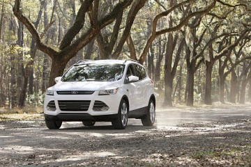 Ford Escape at the Wormsloe Plantaion in Savnnah, GA